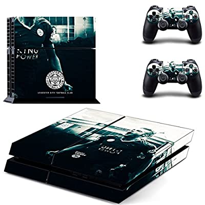Leicester city ps4 skin decal for console and 2 controllers