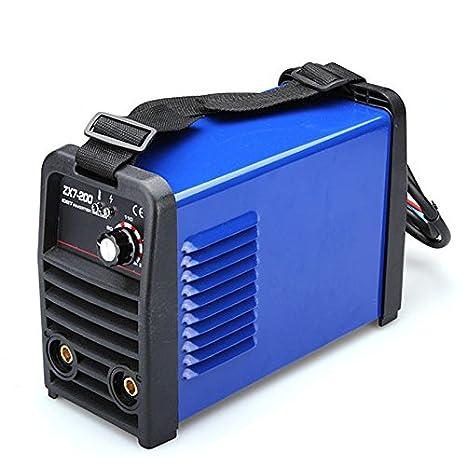 Denshine Portable IGBT Inverter MMA / ARC equipo de soldadura soldador 220V: Amazon.es: Bricolaje y herramientas