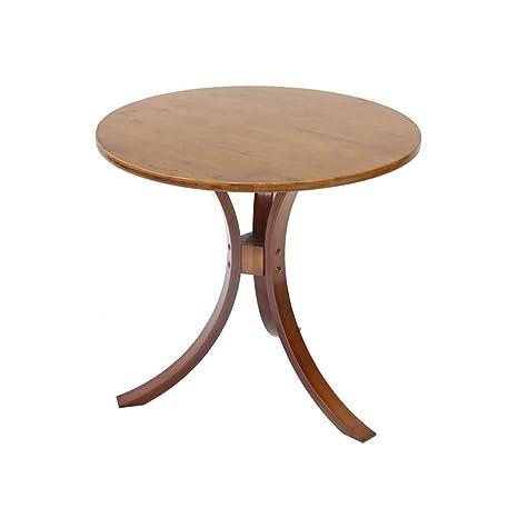 Amazon.com: HPLL mesa auxiliar mesa auxiliar, mesa redonda ...