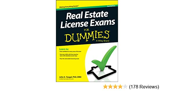 Amazon real estate license exams for dummies ebook john a amazon real estate license exams for dummies ebook john a yoegel kindle store fandeluxe Gallery