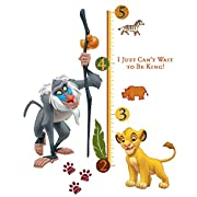 Disney  The Lion King  Wall Decal Growth Chart 27 x40