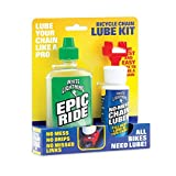 Bicycle Chain Lube Kit - Epic Ride and No Mess Chain Luber
