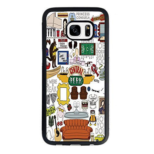 Price comparison product image Samsung Galaxy S7 Case, Friends Tv Show Case for Samsung Galaxy S7 TPU Case