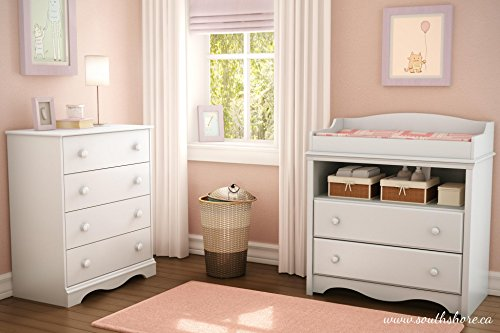 heavenly changing table 4 drawer