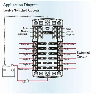 Blue Sea Systems ST Blade ATO/ATC Fuse Blocks