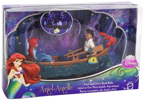 Disney Princess Favorite Moments The Little Mermaid Ariel and Eric's Boat Ride Playset (Eric Mattel Ariel And)