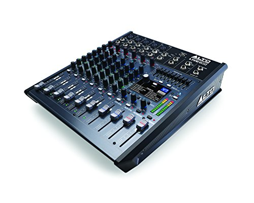 Alto Professional Live 802 | 8-Channel / 2-Bus Mixer with 5 XLR Inputs by Alto Professional