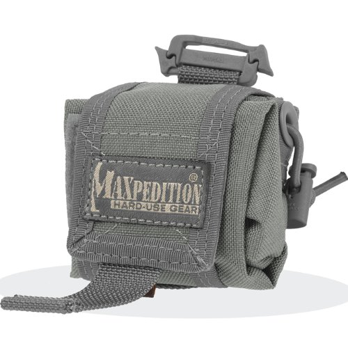 Maxpedition Mini Rollypoly Folding Dump Pouch (Foliage Green), Outdoor Stuffs