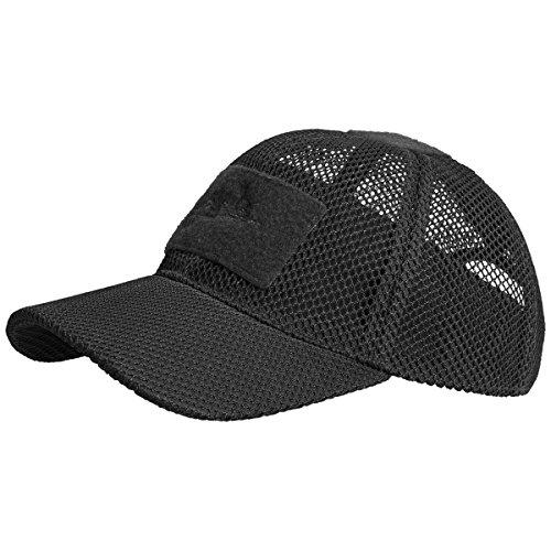 Headgear Mesh Cap - Helikon Baseball Mesh Cap Black