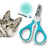 Bekith Cat Nail Clippers - Small Animal Nail Trimmer: Dog Cat Rabbit Bird Puppy Kitten Ferret Gerbils Rat - Cat Claw Clippers Scissors & Nail Cutter