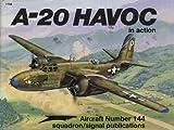 A-20 Havoc in Action, Jim Mesko, 0897473175