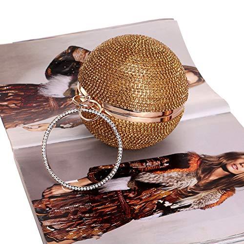 Lbzd silver Donne Convenzionale Spalla Delle Piccola Crossbody Del Ragazza Di Clutch Borsa Per Della Sera La Gold Borse rwCfqAr