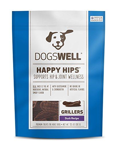 Dogswell Happy Hips Dog Treats, Duck Flavor, 13.5 Ounce