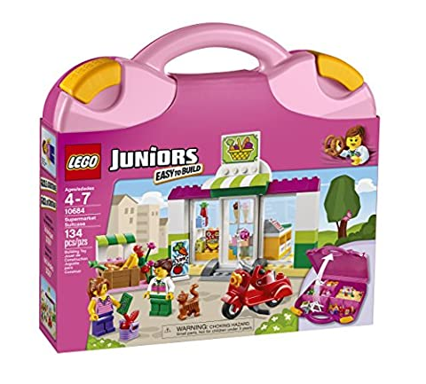 LEGO Juniors Supermarket Suitcase (Lego Junior Princess)