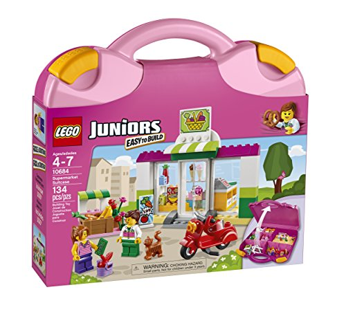 LEGO Juniors Supermarket Suitcase (Lego Suit)