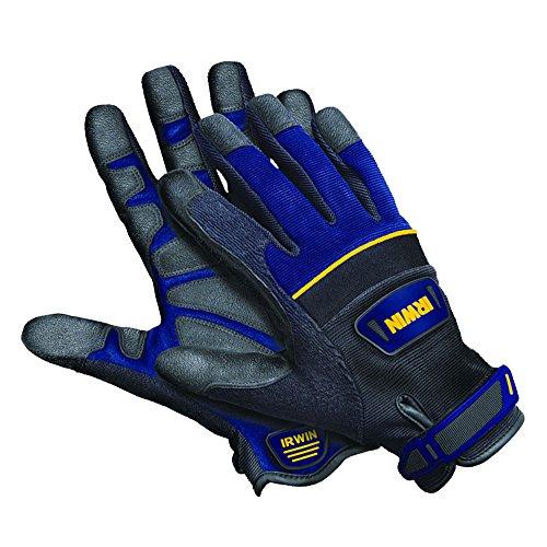 IRWIN Tools Heavy-Duty Jobsite Gloves, Large (432001)