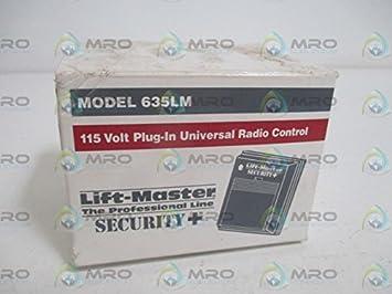 Sears Craftsman Liftmaster Chamberlain Security Universal Garage Door Opener Plug In Receiver 635lm Amazon Ca Tools Home Improvement