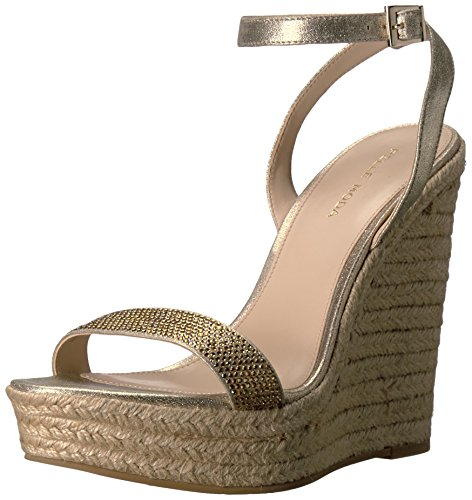 Ms Platinum Wedge Women's Only Moda Pelle Sandal Gold wqUHOC