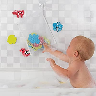 Playgro Babies Animal Friends Bath Shapes with Net and Suction Cup : Baby