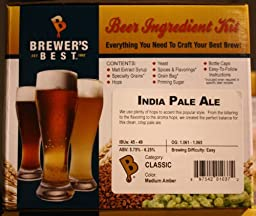 India Pale Ale Homebrew Beer Ingredient Kit Brewers Best