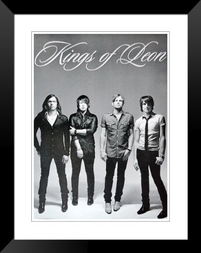 """Kings of Leon Caleb Followill Jared Nathan poster approx 36"""" x 24"""" inch ( 90 x 60 cm)Stand"""