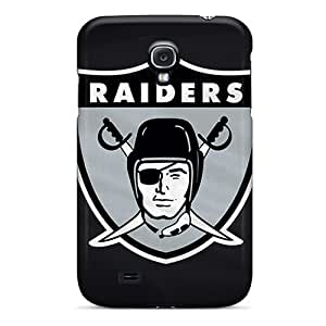 New Oakland Raiders Tpu Skin Case Compatible With Galaxy S4