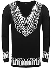 "<span class=""a-offscreen"">[Sponsored]</span>Mens Floral Print Tees South African Style Graphic Fashion T-shirts Top"