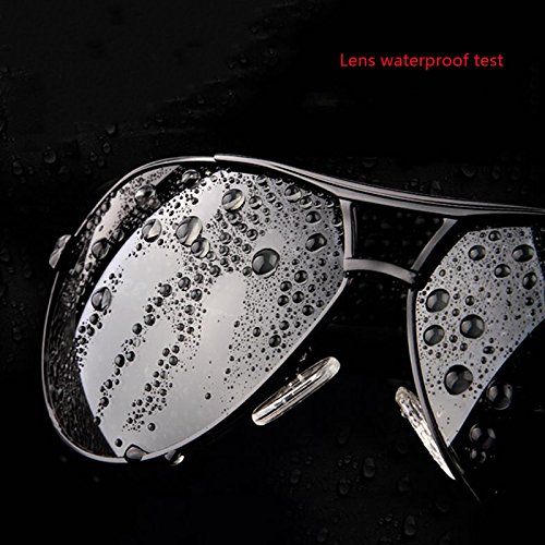lunettes randonneur lunettes de nouvelles soleil protection cadeaux de soleil lunettes Un protecti soleil de soleil UV400 lunettes hommes de pare de de soleil Lunettes de lunettes soleil de noires Noir soleil ZOFcy