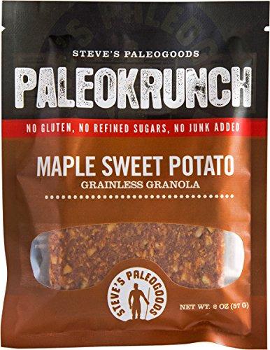 Steve#039s PaleoGoods Paleokrunch Bar Maple Sweet Potato 175 oz Pack of 6