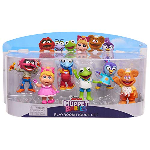 Muppets 14436 Babies 6 Pack Figure, Multicolor -