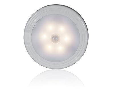 LED MINI Nachlicht Lampe Krpersensor Lichtsteuerung Wohnzimmer Kleidschrank Nachttischlampe Gang Intelligente Warmweiss