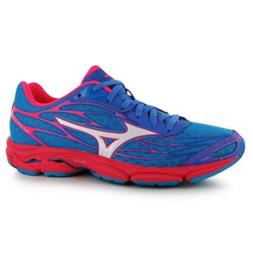Mizuno Wave Catalyst Running Shoes Damen blau/rosa Turnschuhe Sneakers Sport Schuh