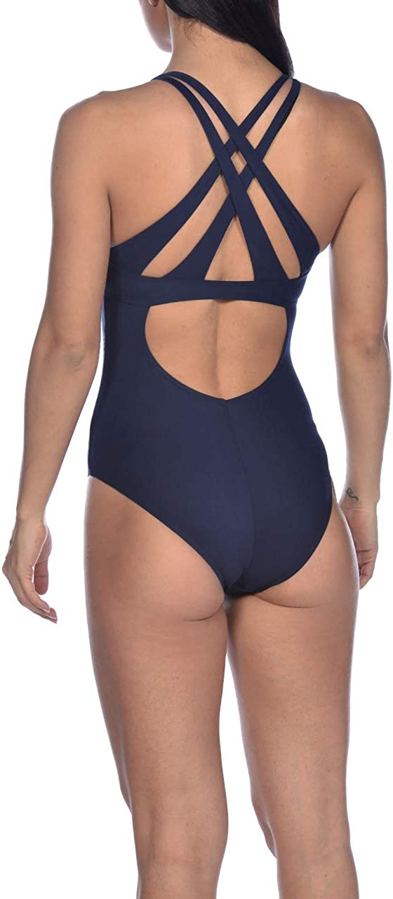 Arena Womens Maia Criss-Cross Back One Piece Swimsuit One Piece Swimsuit
