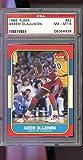 1986-87 Fleer #82 Hakeem Akeem Olajuwon ROOKIE RC PSA 8 Graded Basketball Card
