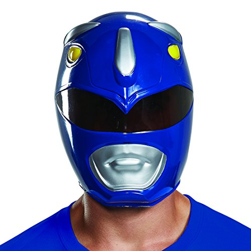 Disguise Men's Blue Ranger Adult Mask, One Size]()