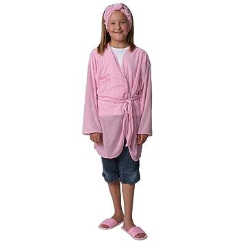 970176505 Amazon.com: Girls Pamper Party Day Spa Robe & Headband Set for 10 ...