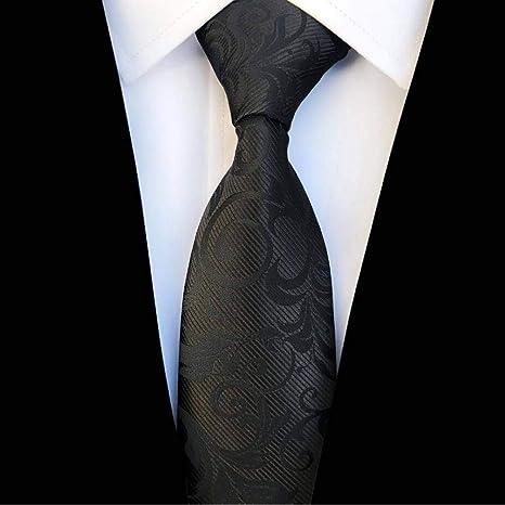 WOXHY Corbata de los Hombres Nuevo diseño 8 cm Corbata de Seda ...