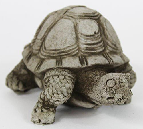 Small Turtle Concrete Statue Cement Animal Garden Statue Turtles Figurines Back Yard Art