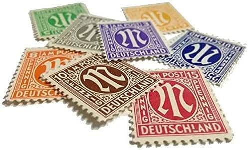 IMPACTO COLECCIONABLES Segunda Guerra Mundial - 9 Sellos Aliados (Estados Unidos y Gran Bretaña) de Berlín: Amazon.es: Juguetes y juegos