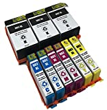 XL-Ink compatible for HP 902XL 9-Pack 2xBk + 2xCMY