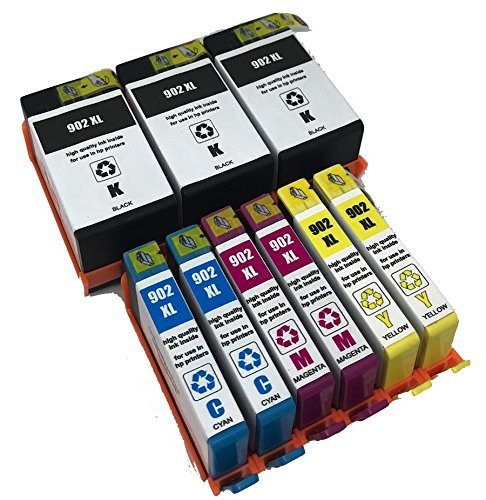 XL-Ink compatible for HP 902XL 9-Pack 2xBk + 2xCMY by 902XL