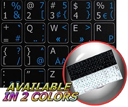 af81a84292e PROGRAMMER DVORAK - ENGLISH NON-TRANSPARENT KEYBOARD LABELS LAYOUT BLACK OR  WHITE BACKGROUND (15x15