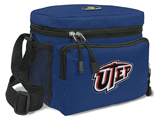 Broad Bay UTEP Miners Lunch Bag NCAA UTEP Lunchboxes