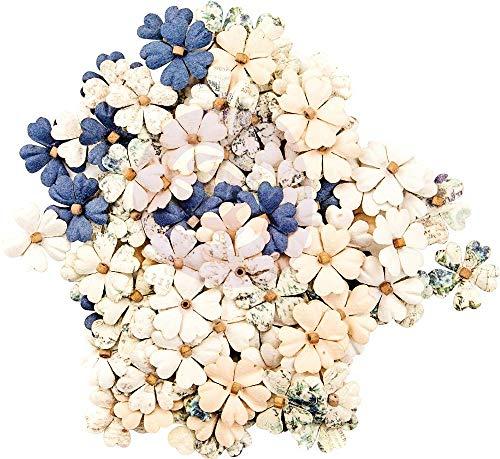 (Georgia Blues Mulberry Paper Flowers 120/pkg-turner)