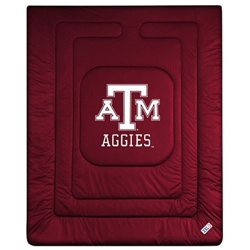 Sports Coverage NCAA Texas A&M Aggies Locker Room Comforter (Texas A&m Locker Room)