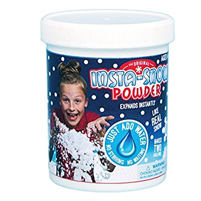 Be Amazing Insta-Snow Jar, Makes 2 Gallons from Be Amazing! Toys