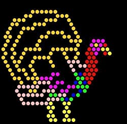 Lite Brite Refill: Holiday (Square) - - Buy 2, Get 1 Free