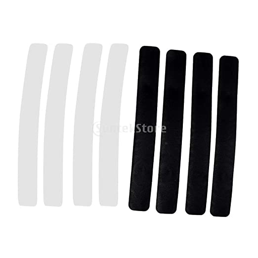 2x Bumper Strips Skin Leather for Smart Balancing Electric Scooter Hoverboard xc