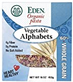 vegetable alphabet pasta - Eden Organic Pasta, Vegetable Alphabets 2 Pack (1 Lb Ea) by Eden