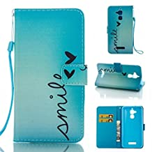 """ZenFone 3 Max ZC520TL Case,Valenth Wallet Case Cover with Stand Feature and Credit Card Slots for ASUS ZenFone 3 Max ZC520TL 5.2"""""""